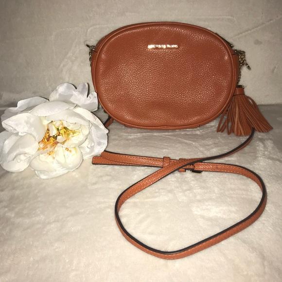 39ff229f78cf Michael Kors Bags | Ginny Medium Leather Crossbody Nwot | Poshmark